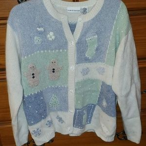 Vintage christmas/winter themed sweater